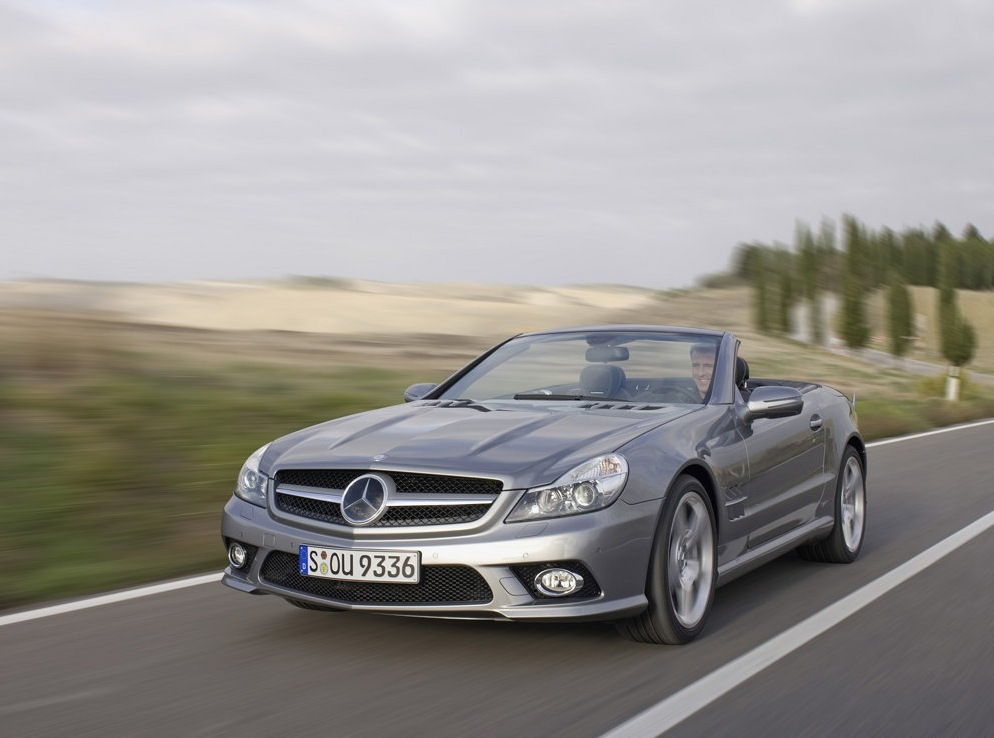 Снимки: Mercedes-benz SL (2008)