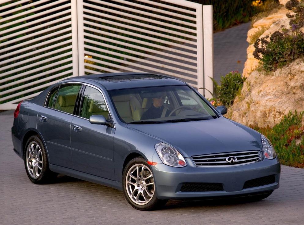 Снимки: Infiniti G35 Sport Sedan