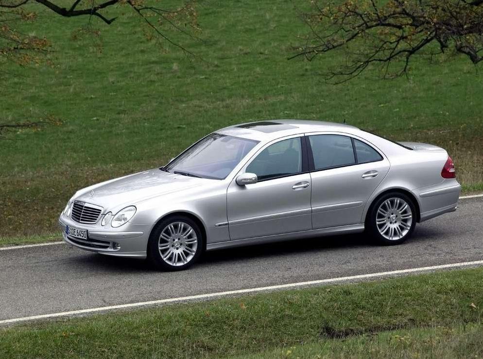Снимки: Mercedes-benz E-klasse (W211)