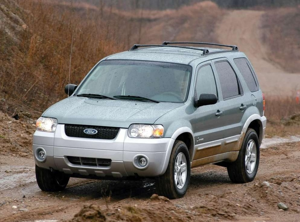 Снимки: Ford Escape II
