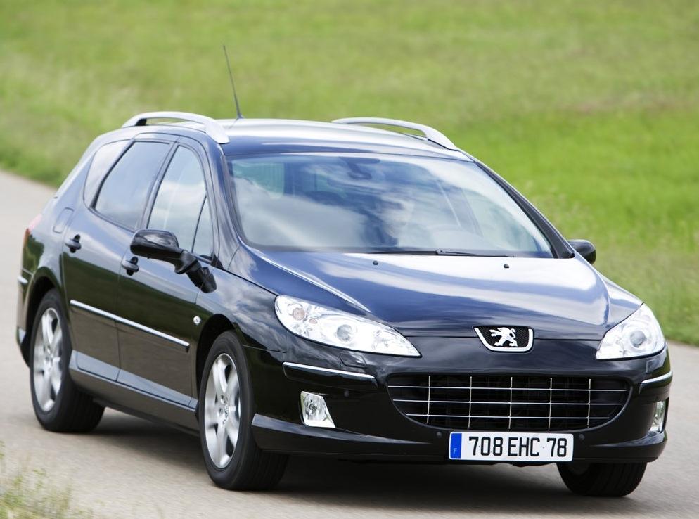 Снимки: Peugeot 407 SW