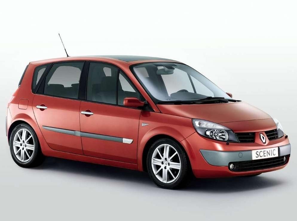 Снимки: Renault Scenic 2