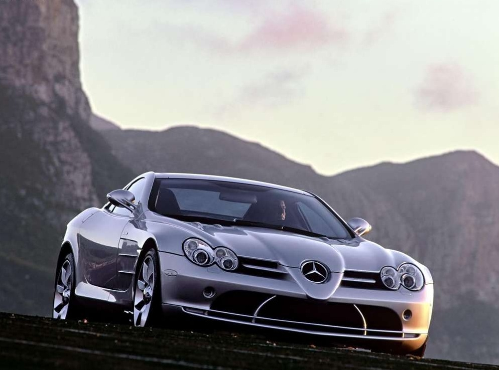 Снимки: Mercedes-benz SLR McLaren (C199) Coupe