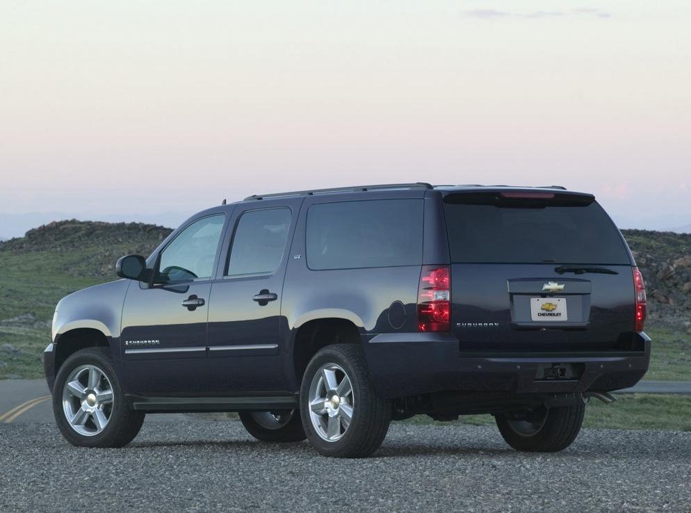 Снимки: Chevrolet Suburban (GMT900)