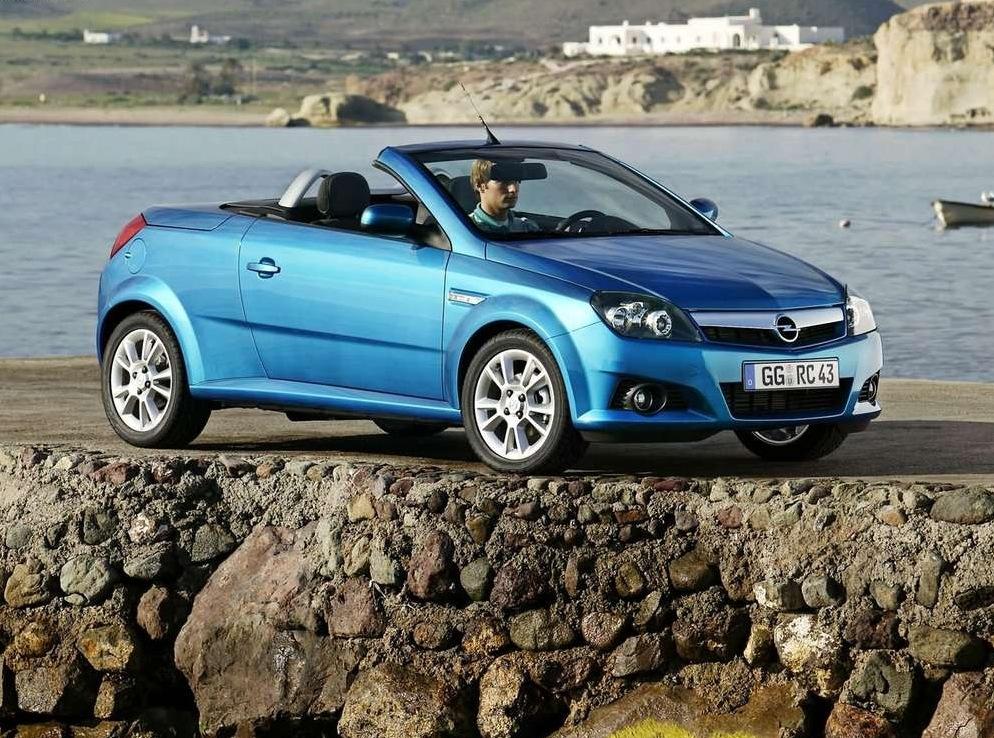 Снимки: Opel Tigra B