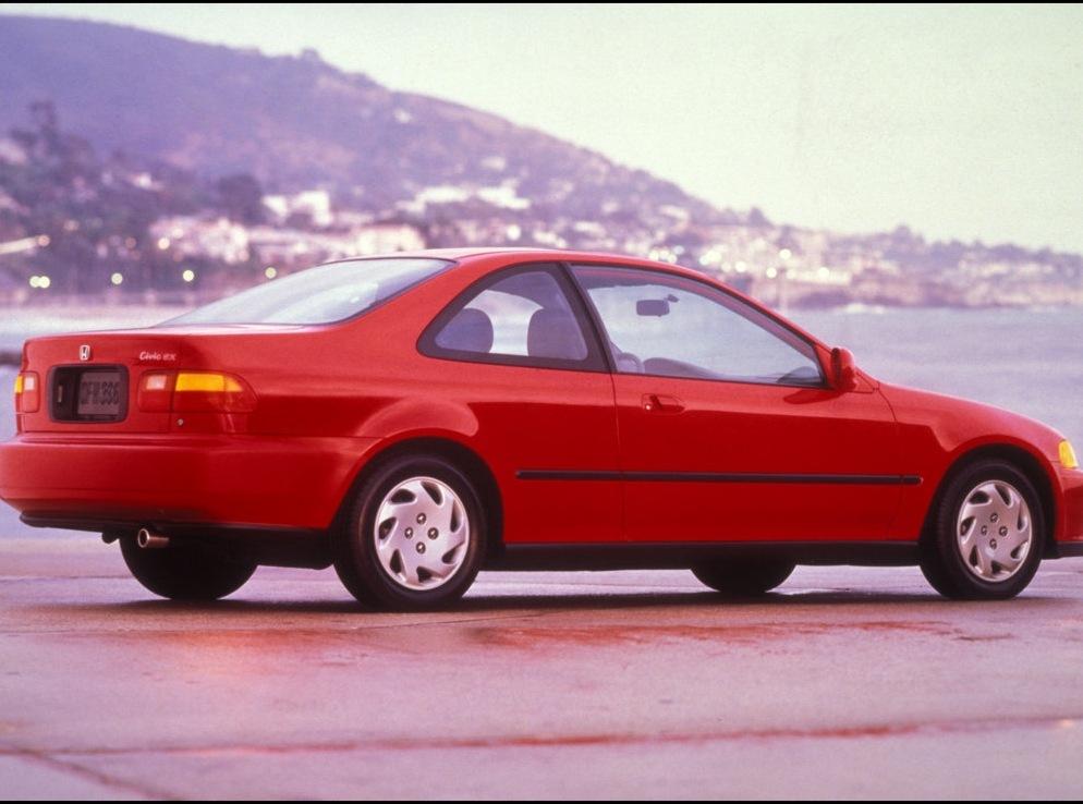 Снимки: Honda Civic Coupe 5