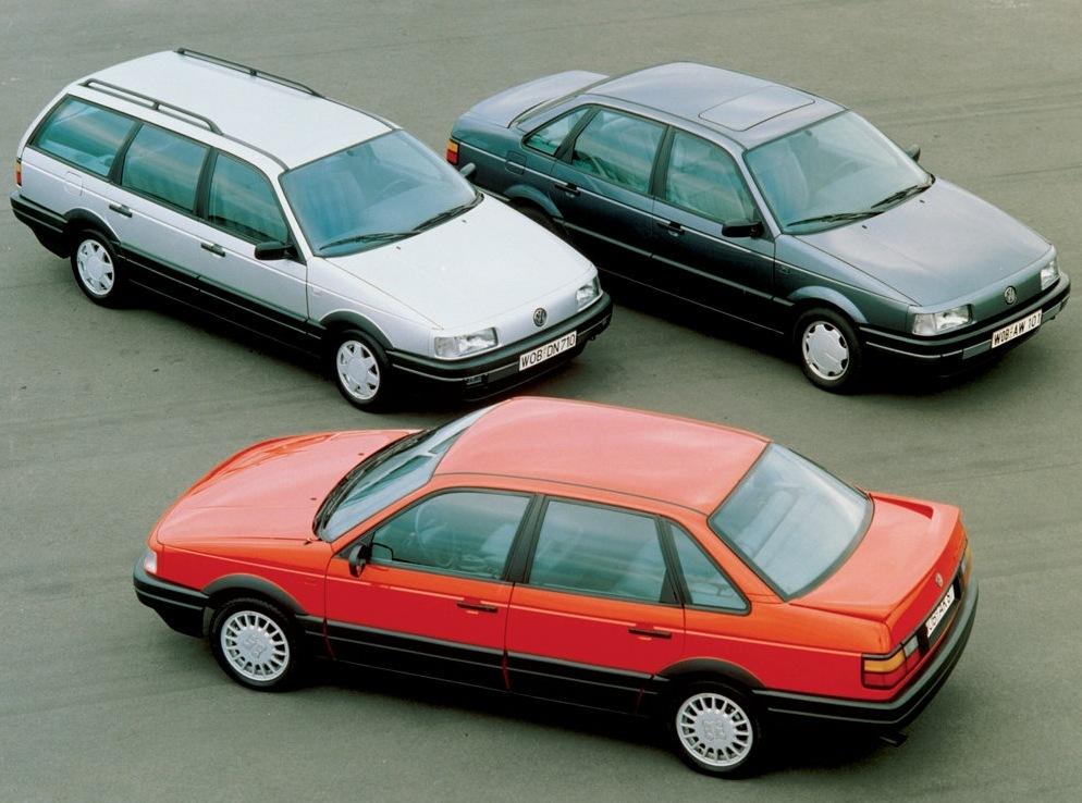 Снимки: Volkswagen Passat (B3, B4)