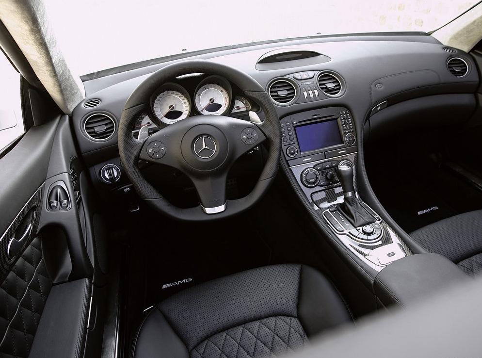Снимки: Mercedes-benz SL AMG (2008)