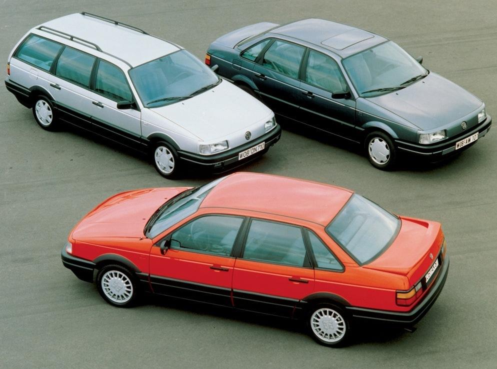 Снимки: Volkswagen Passat Variant B3,B4