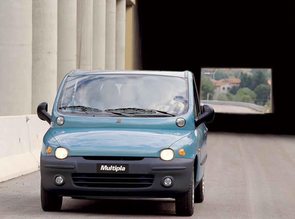 Снимки: Fiat Multipla (186)