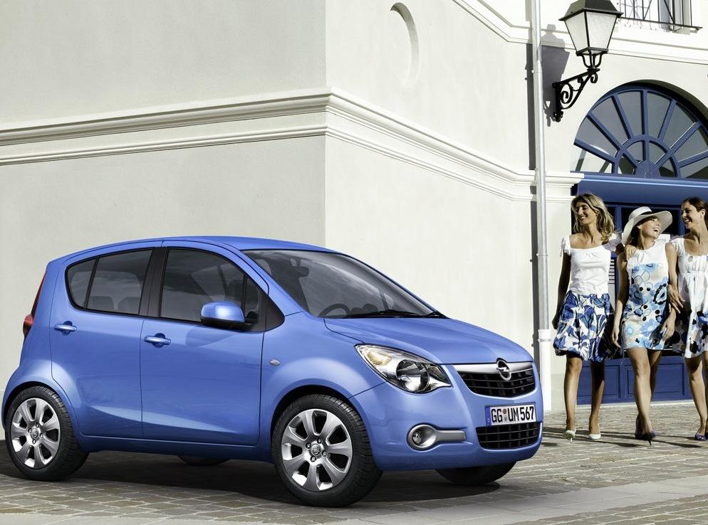Снимки: Opel Agila II