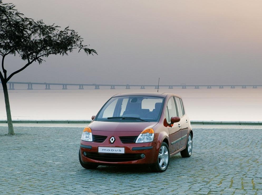 Снимки: Renault Modus
