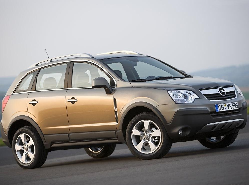 Снимки: Opel Antara