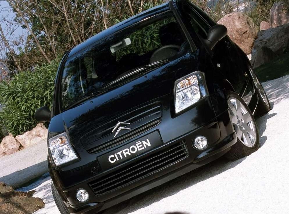 Снимки: Citroen C2