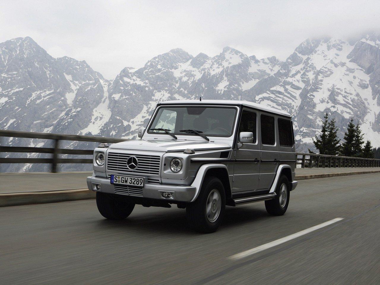Снимки: Mercedes-benz G (W463) Facelift 2008