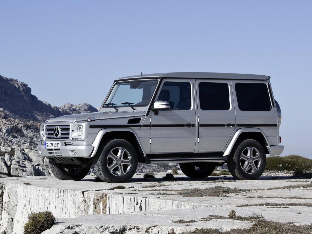 Снимки: Mercedes-benz G (W463) Facelift 2012