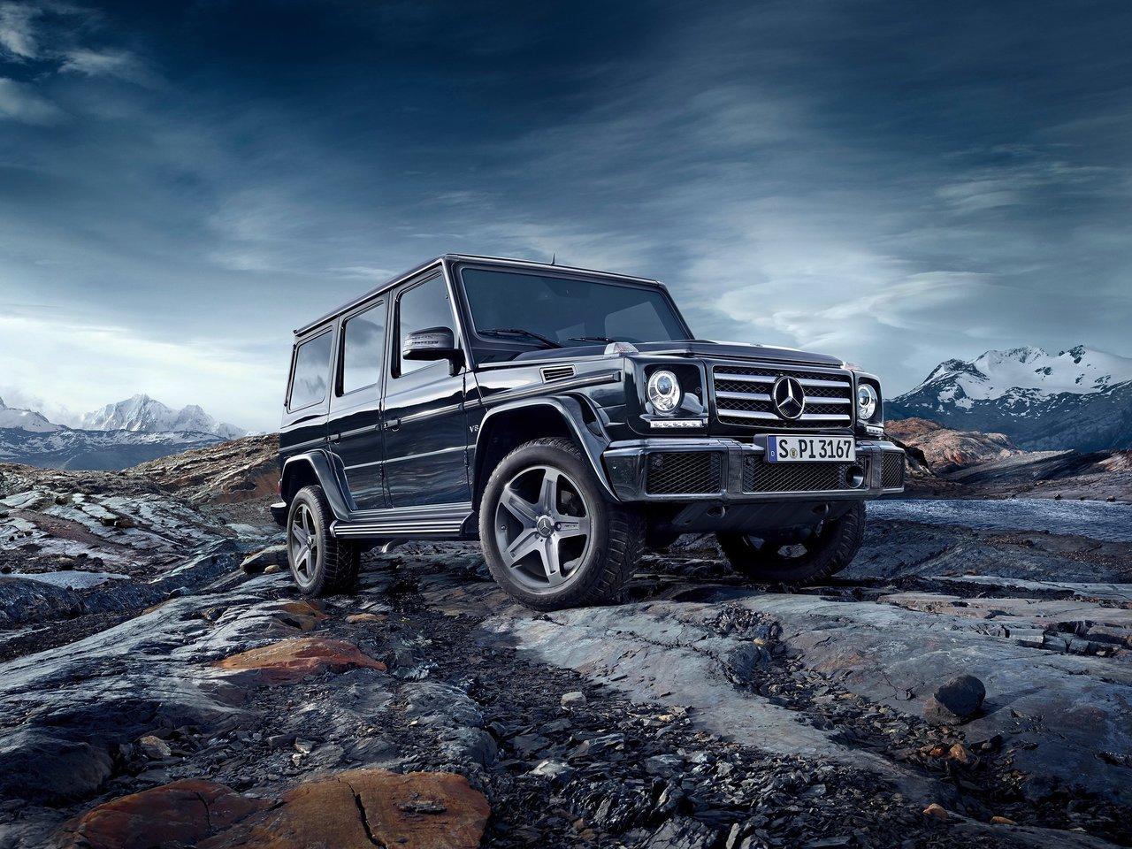 Снимки: Mercedes-benz G (W463) Facelift 2015