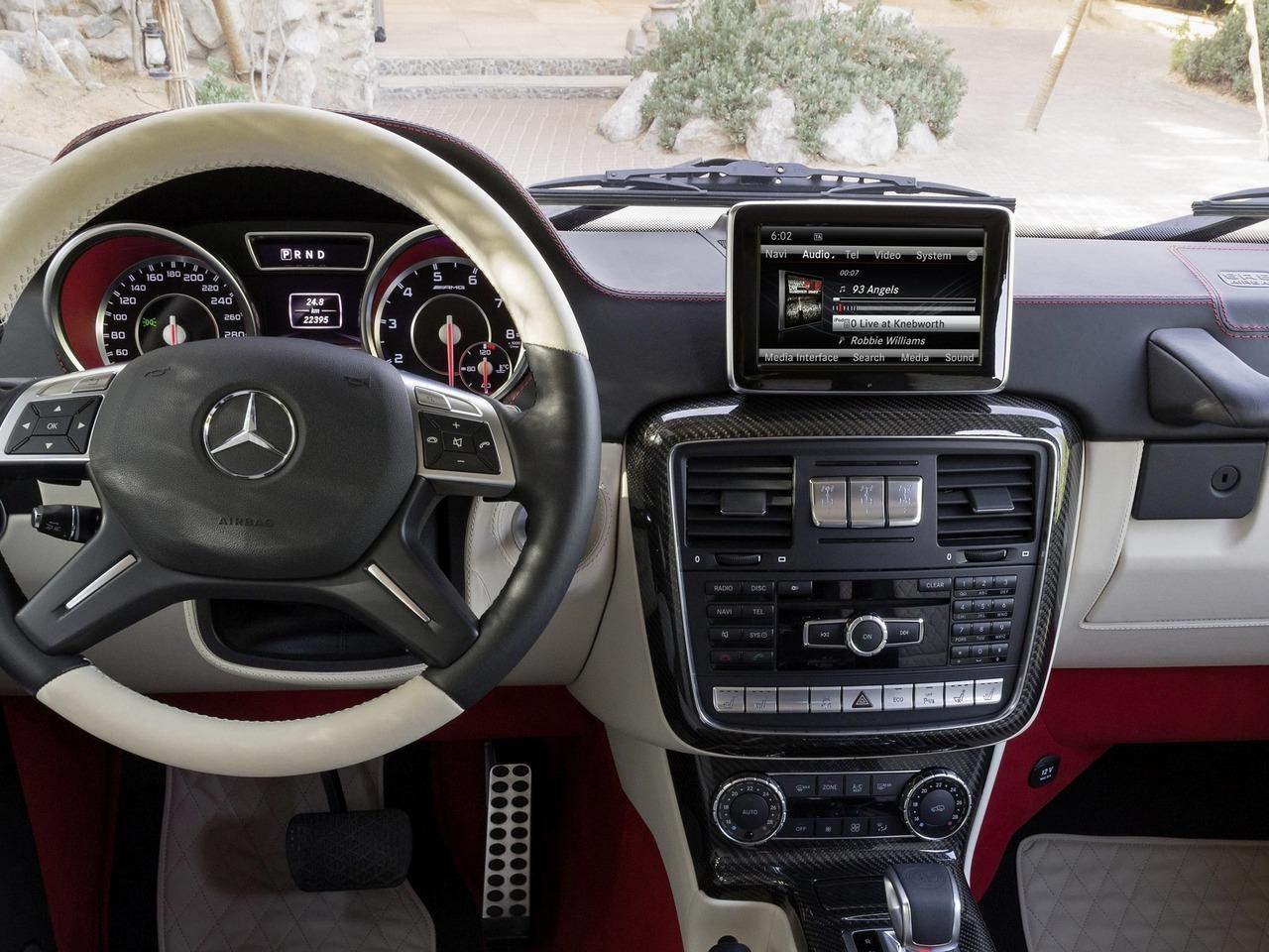 Снимки: Mercedes-benz G-klasse 6x6