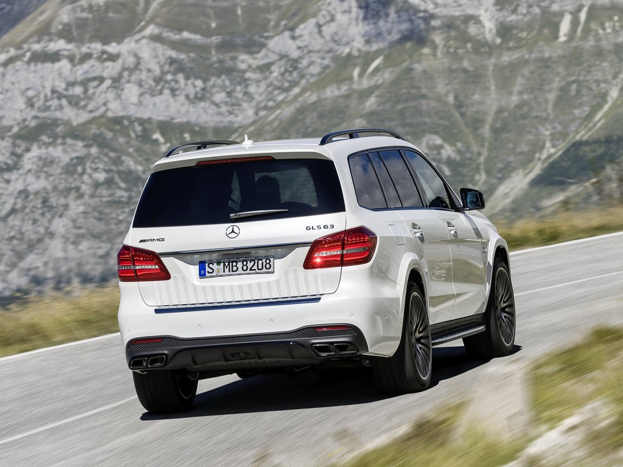 Снимки: Mercedes-benz GLS-klasse (X166)