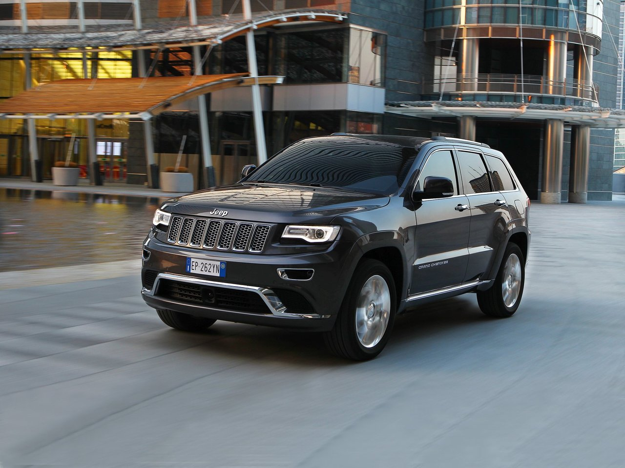 Jeep Grand Cherokee (WK2) Facelift