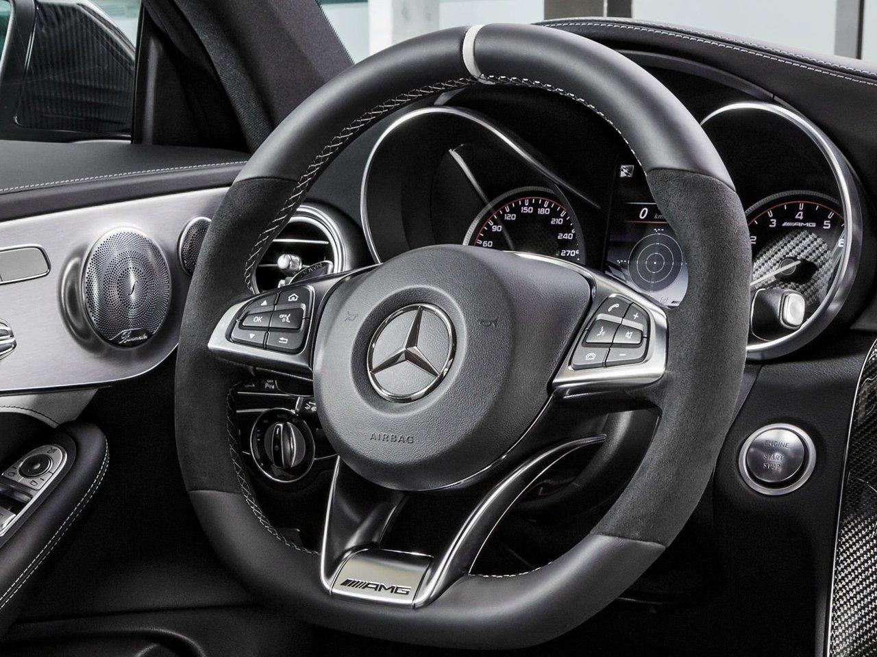 Снимки: Mercedes-benz C-klasse AMG Coupe (W205)