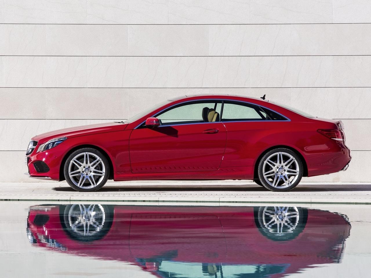 Снимки: Mercedes-benz E-klasse Coupe (c207) Facelift
