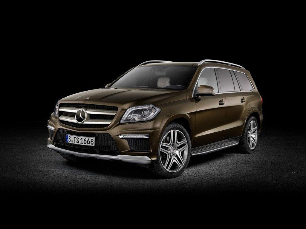 Снимки: Mercedes-benz GL (X166)