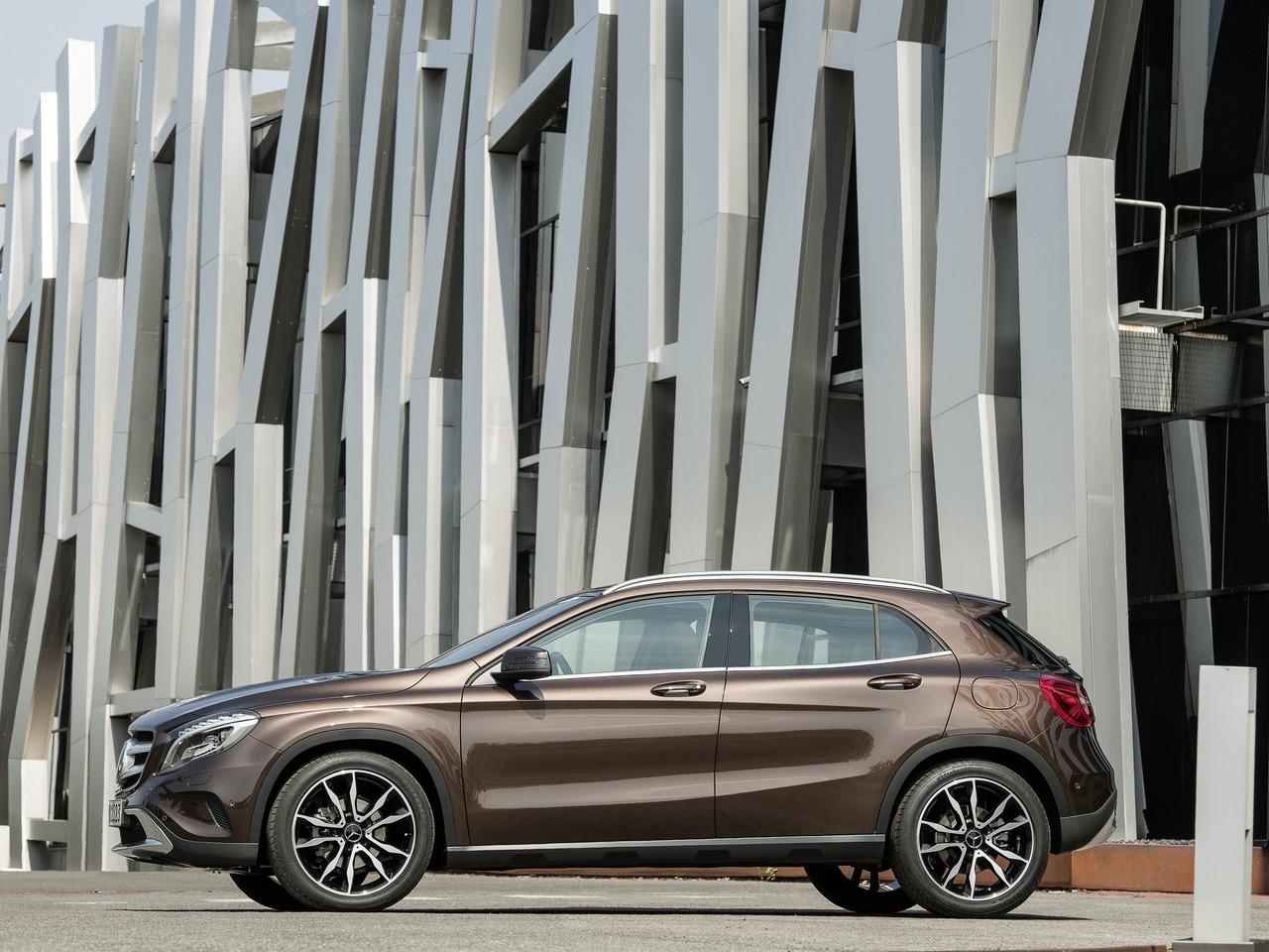 Снимки: Mercedes-benz GLA-klasse