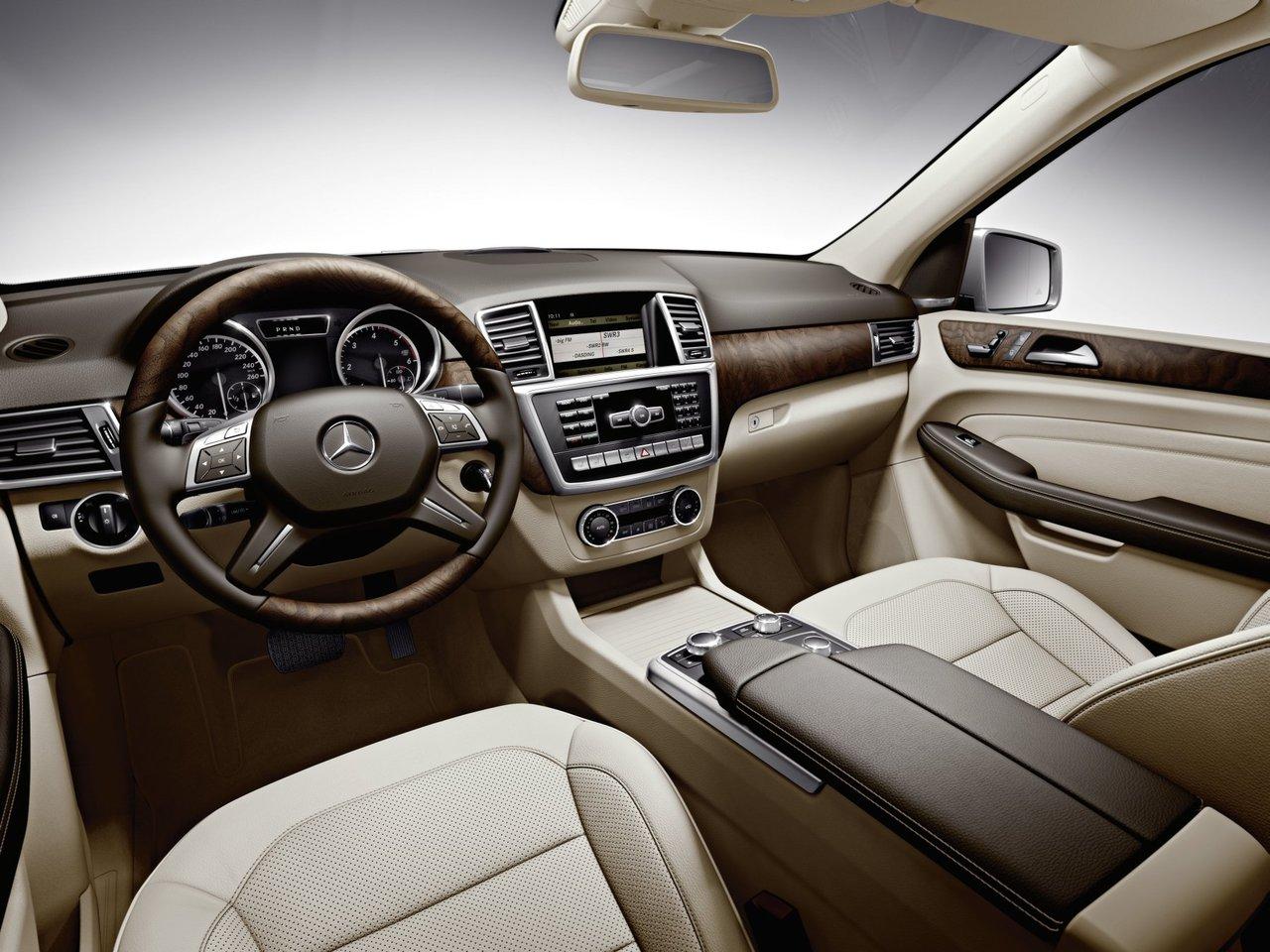 Снимки: Mercedes-benz ML-klasse (W166)