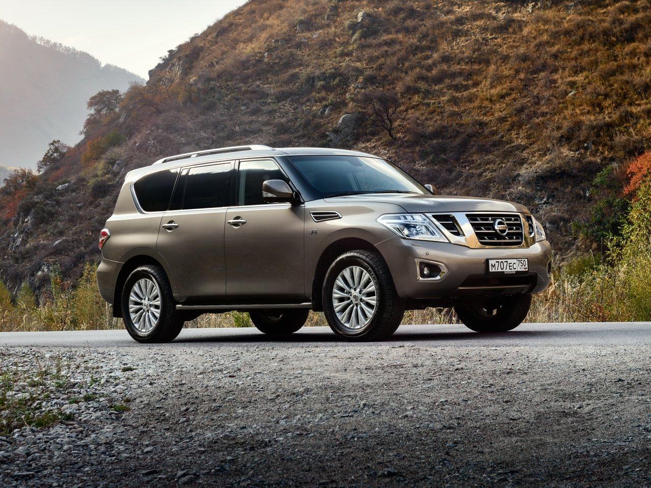 Снимки: Nissan Patrol (Y62) 2010