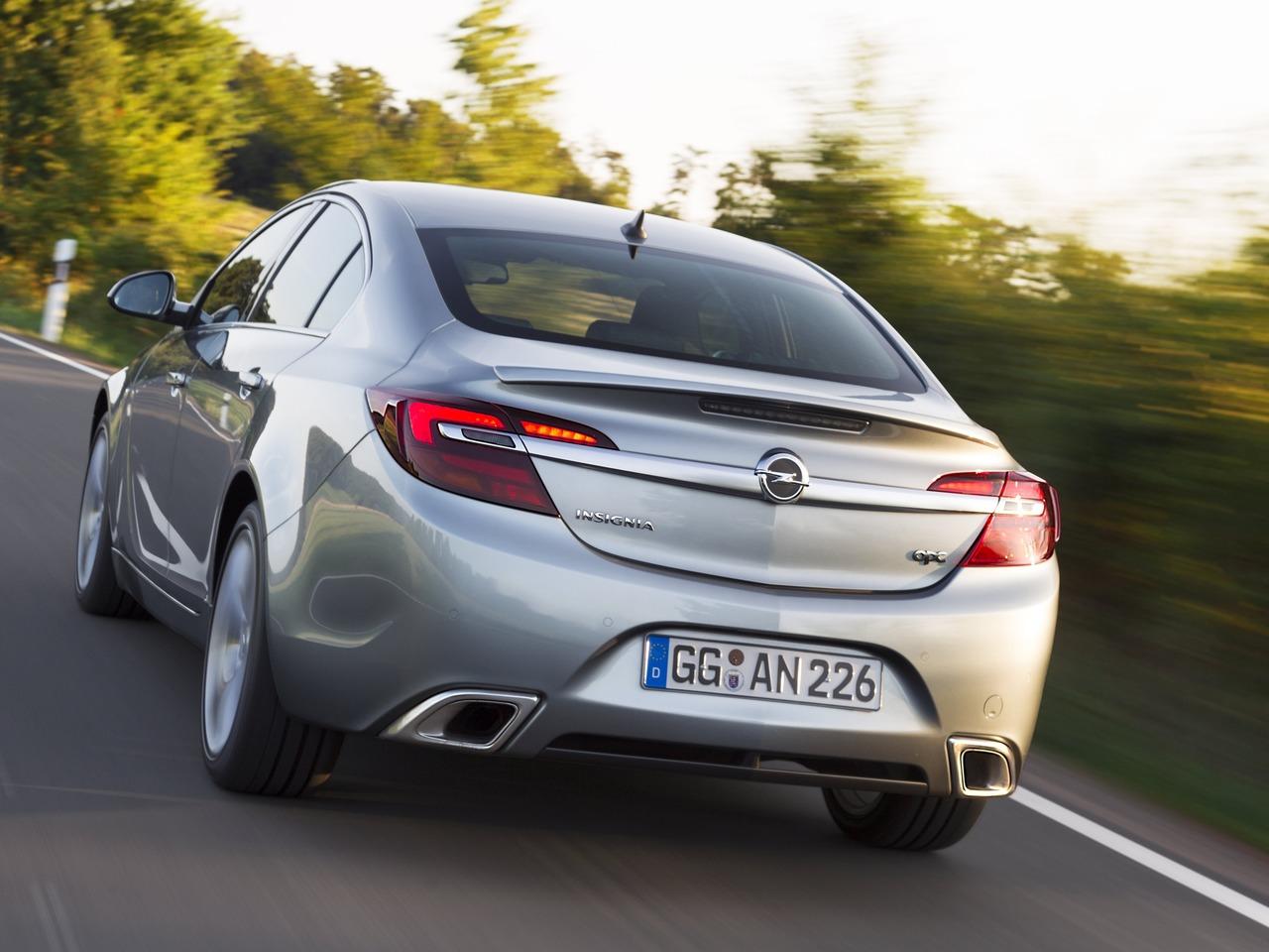 Снимки: Opel Insignia OPC