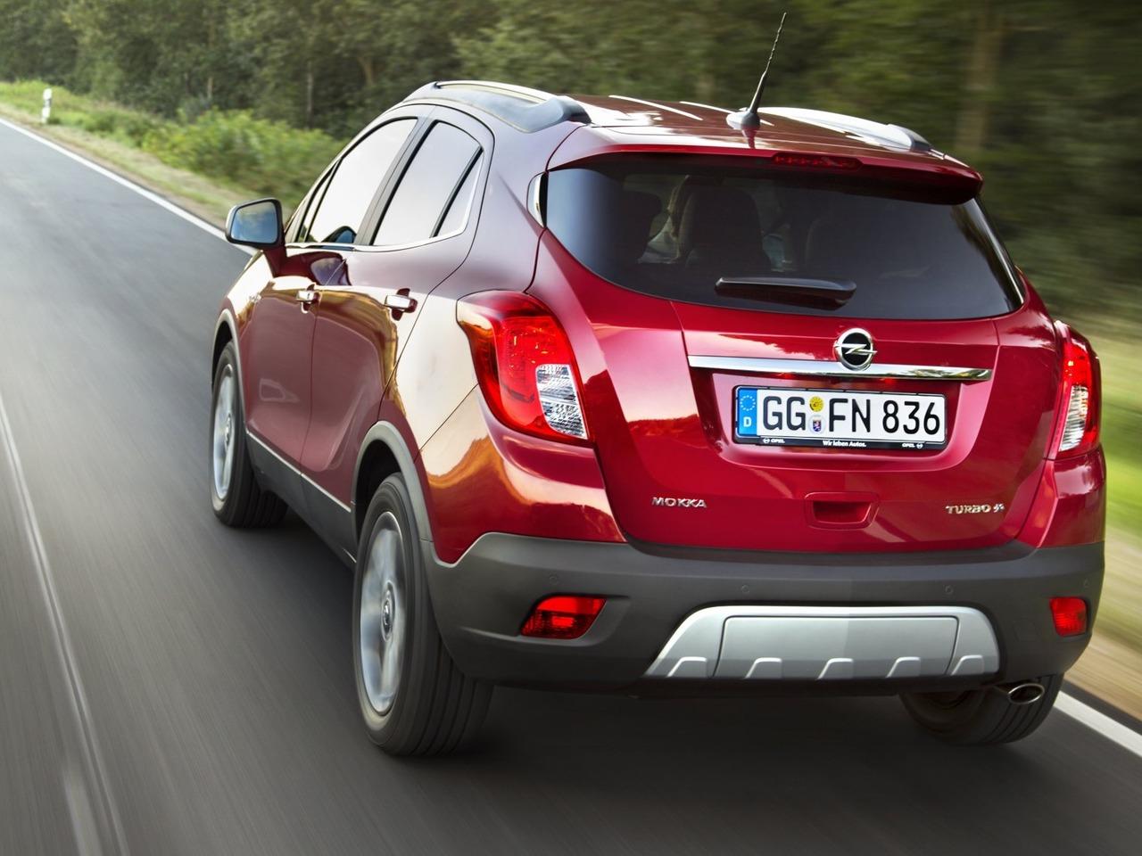 Снимки: Opel Mokka