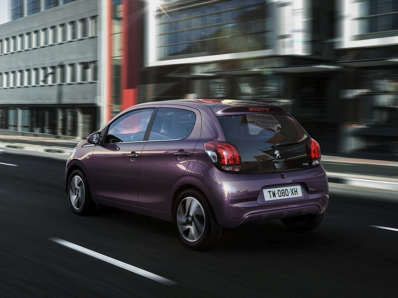 Снимки: Peugeot 108