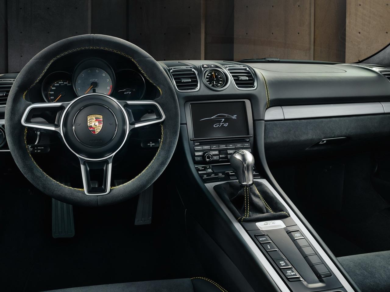 Снимки: Porsche Cayman II