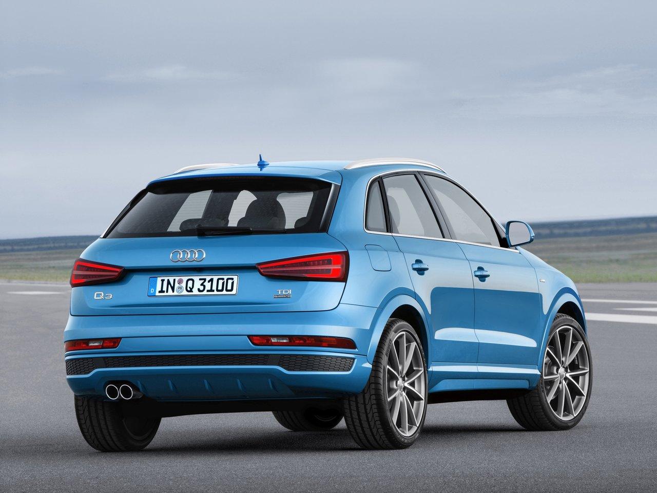 Снимки: Audi Q3 Facelift