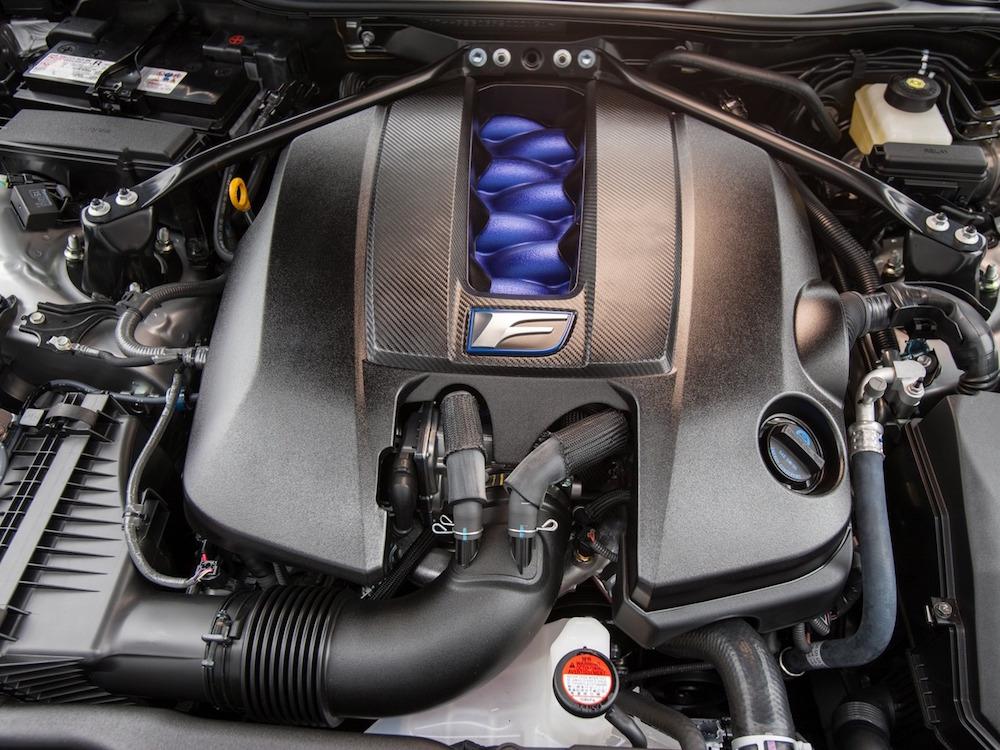 Снимки: Lexus RC F coupe