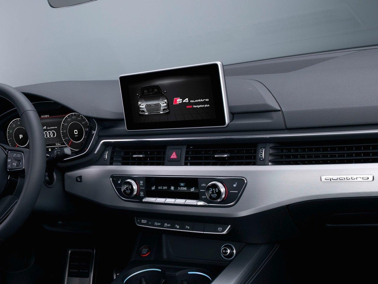 Снимки: Audi S4 (B9)