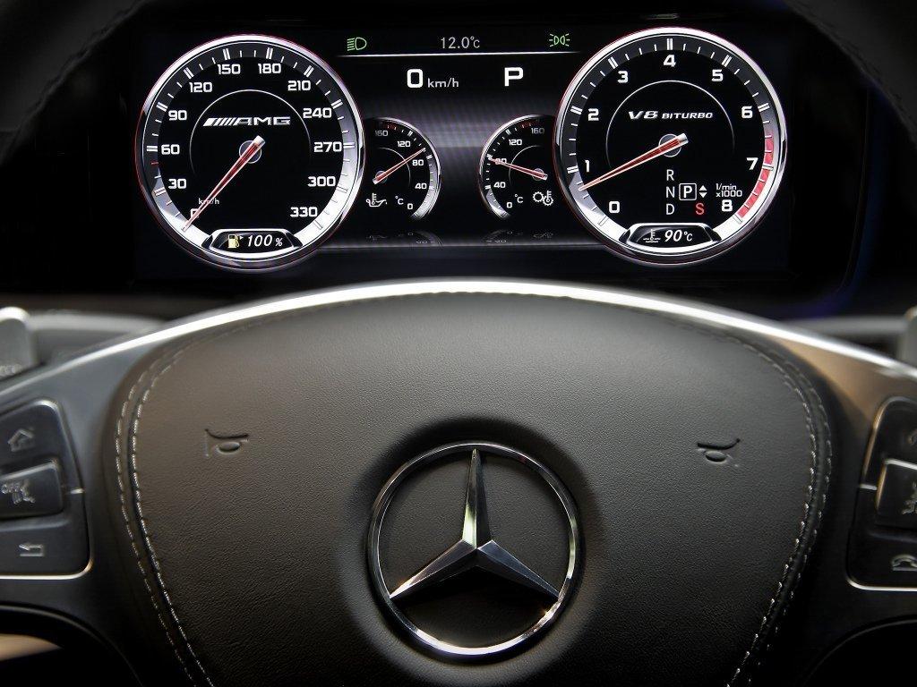 Снимки: Mercedes-benz S-Klasse AMG (W222)
