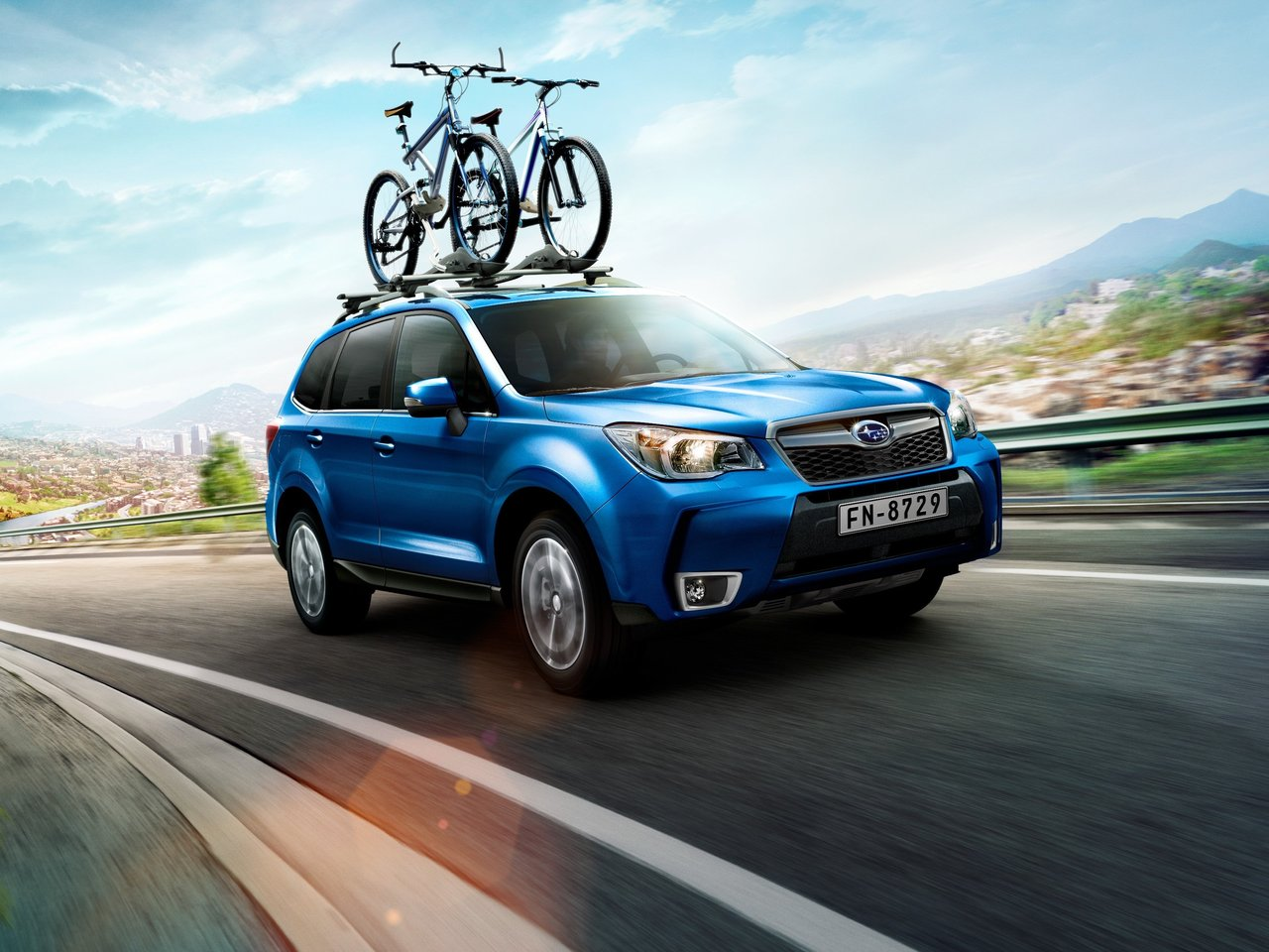 Снимки: Subaru Forester IV