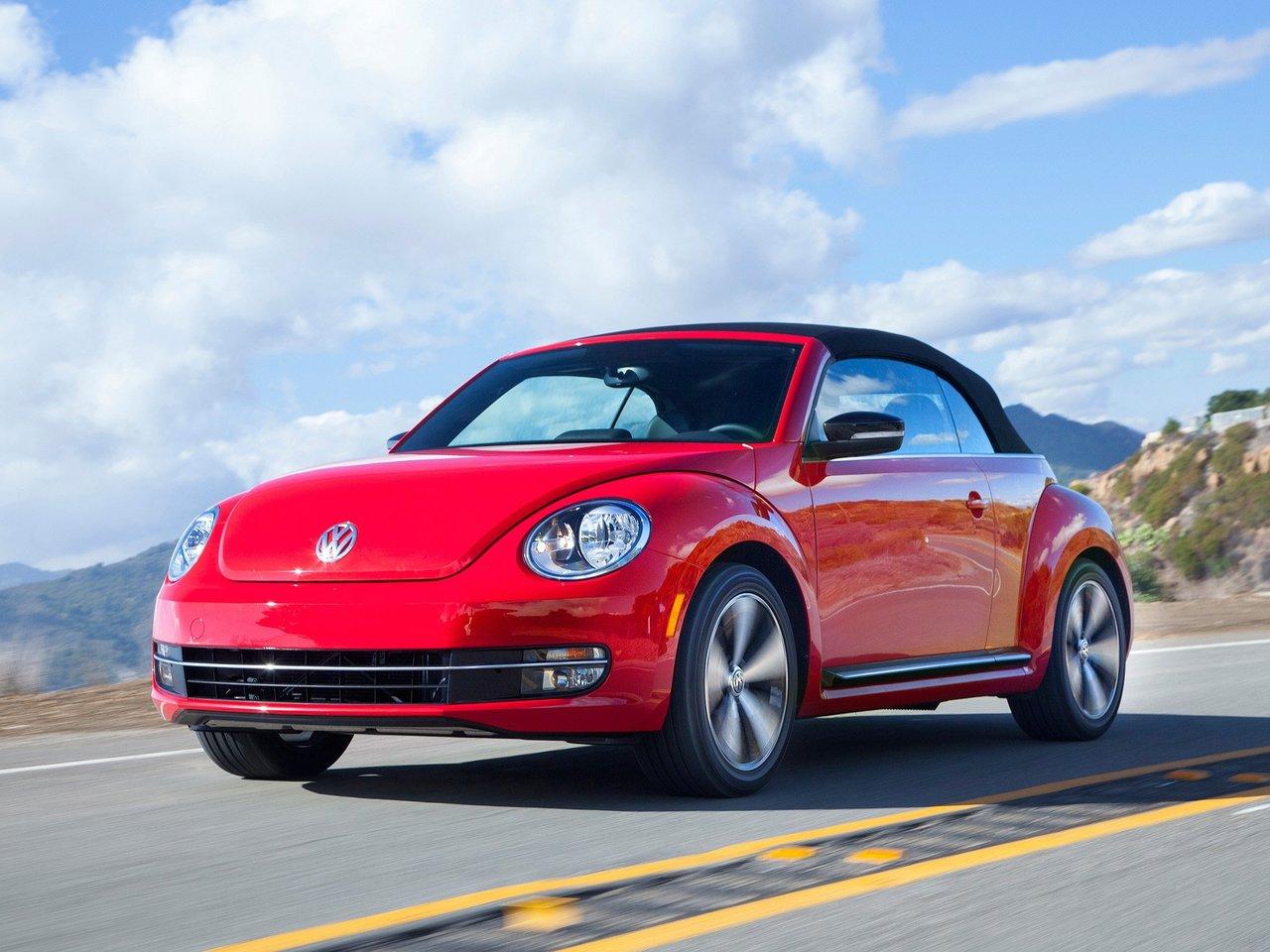 Снимки: Volkswagen Beetle Cabrio (A5) (2011)