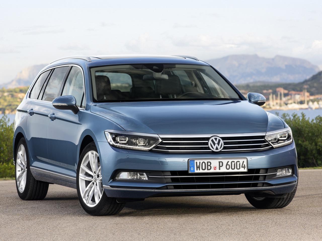 Снимки: Volkswagen Passat Variant (B8)