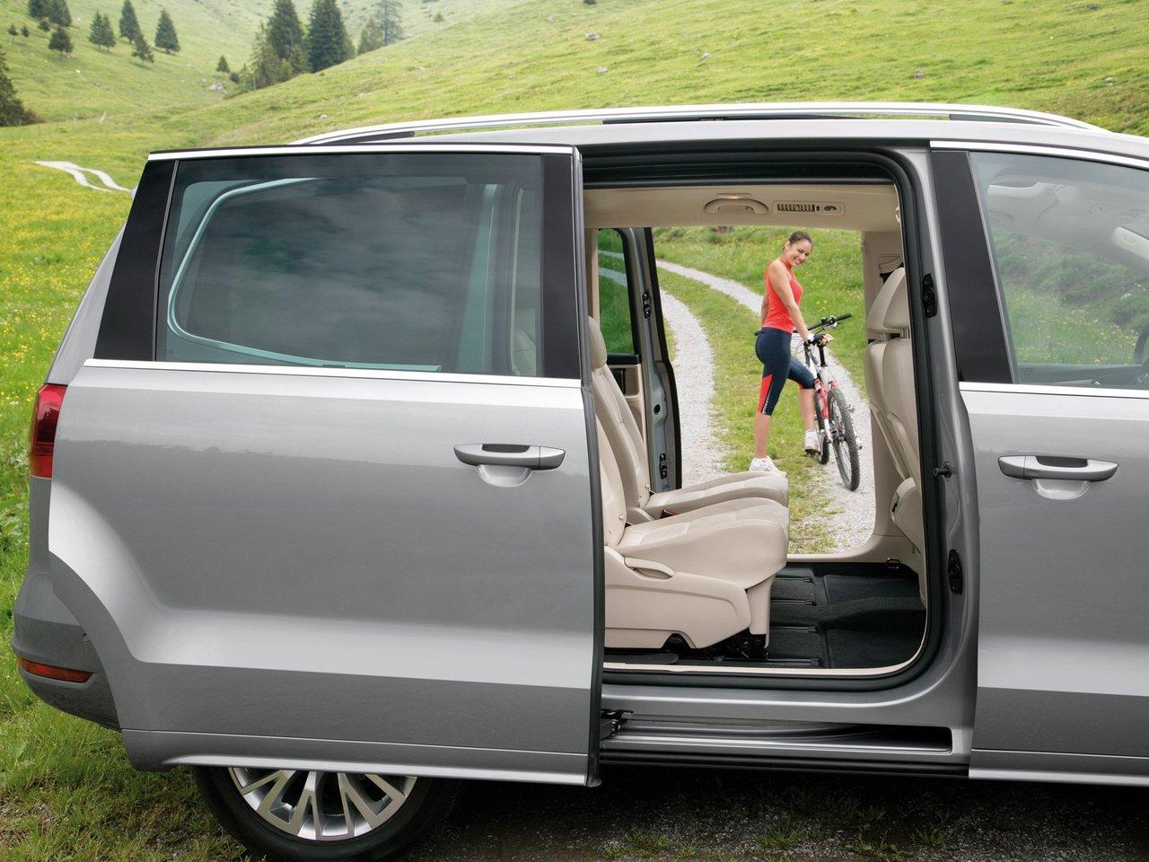 Снимки: Volkswagen Sharan II