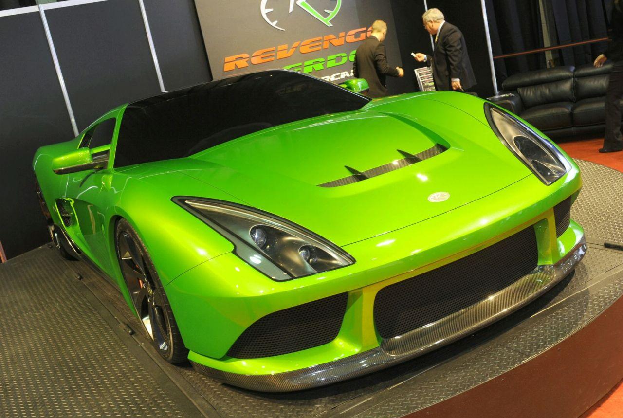 Хибриден Revenge Verde харчи 2.14 л/100 и има мощност от 400 к.с.