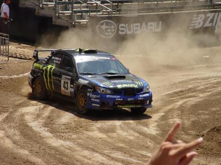 Subaru WRX STi Drift