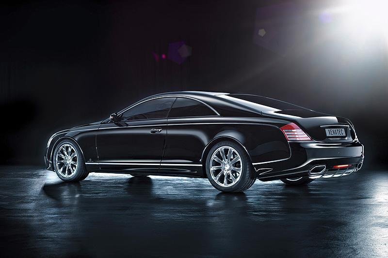 Maybach 57S Coupe показва лукс и консервативност