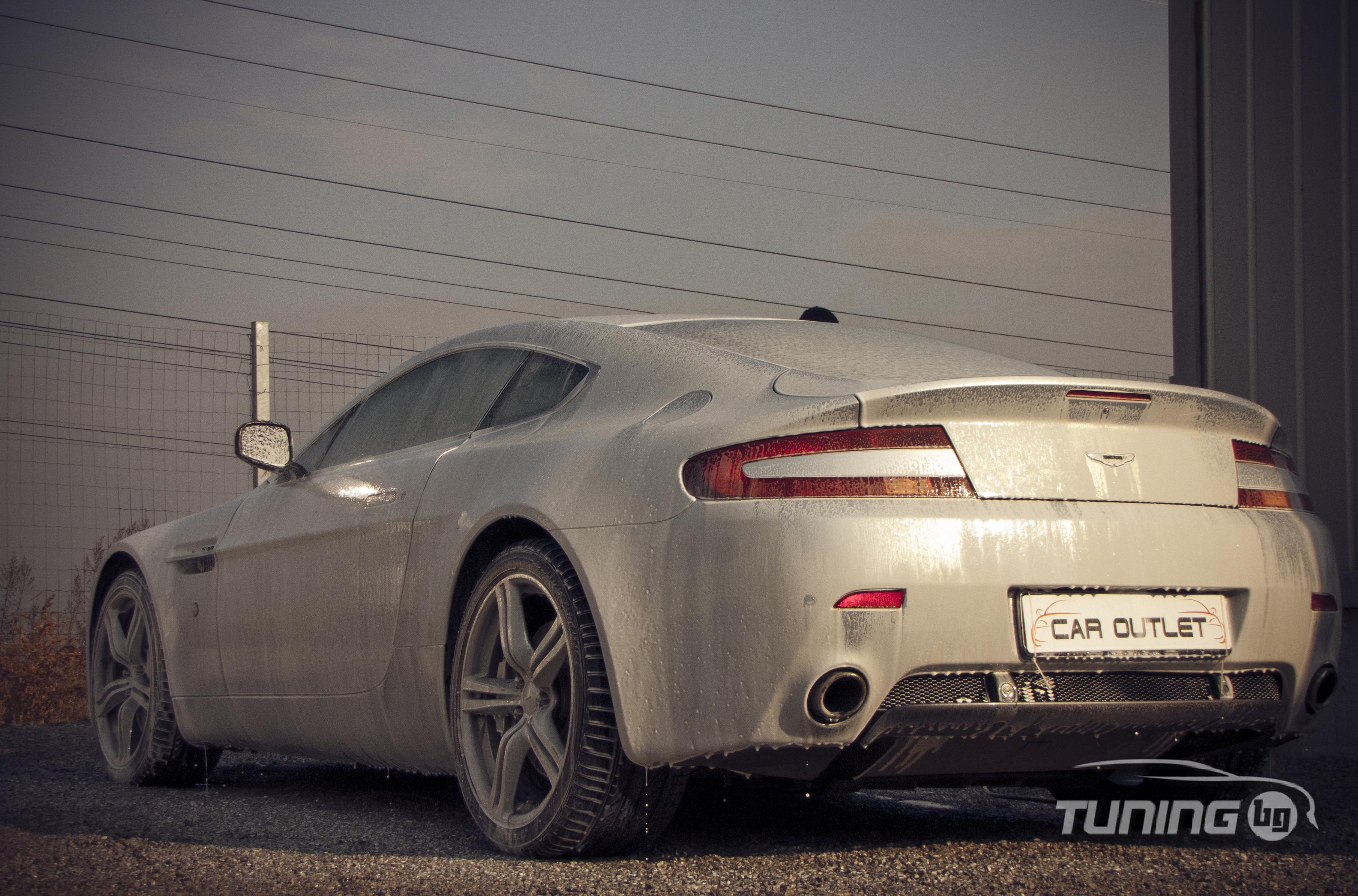 Галерия - Nissan GTR vs Aston Martin - Tuning.bg