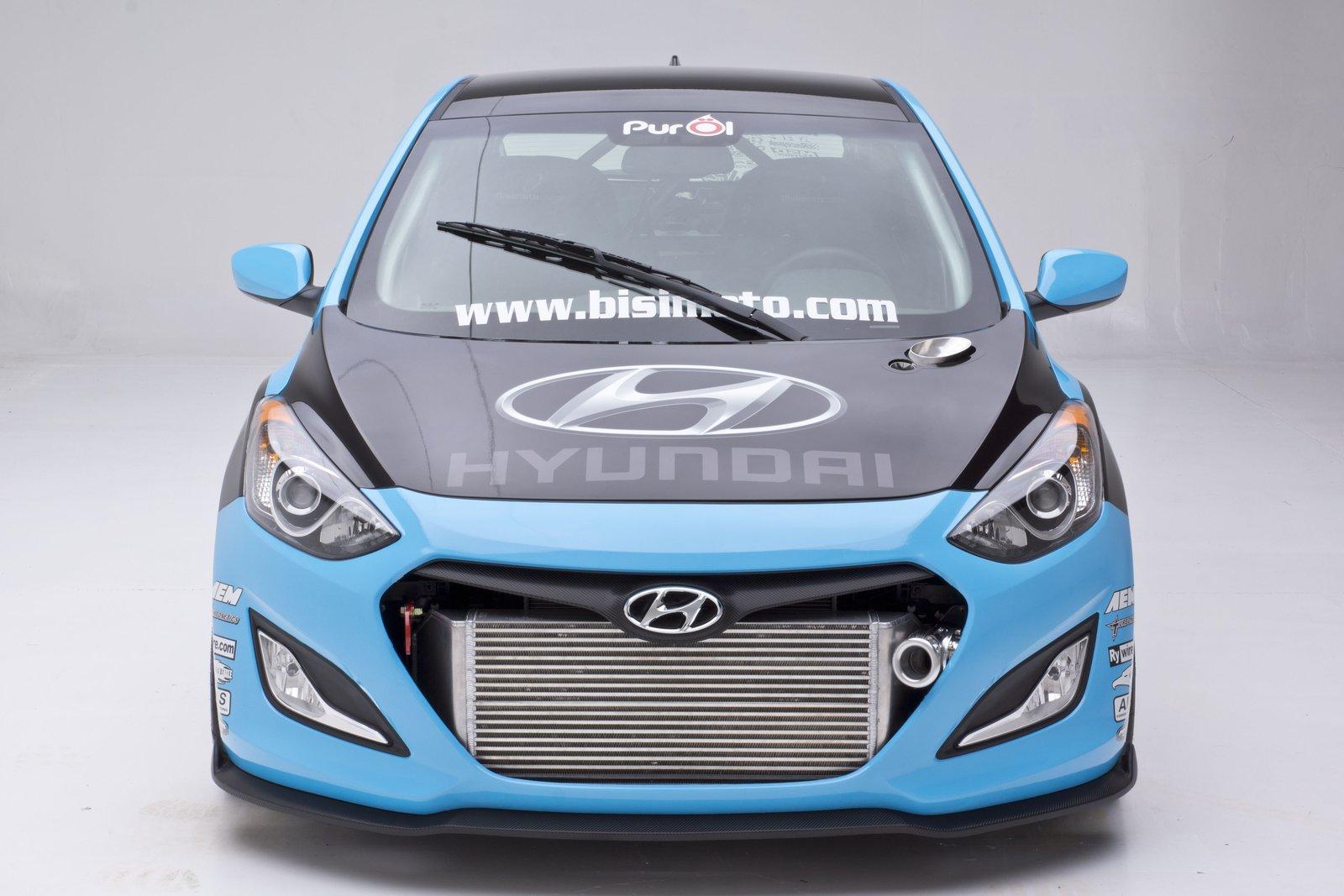 Звездите от SEMA 2012: Вижте мощната 600 к.с. Hyundai Elantra GT (ВИДЕО)