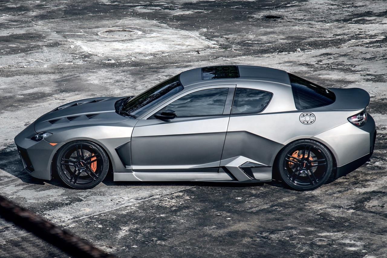 Трансформираха Mazda RX8 в стил Lambo Reventon