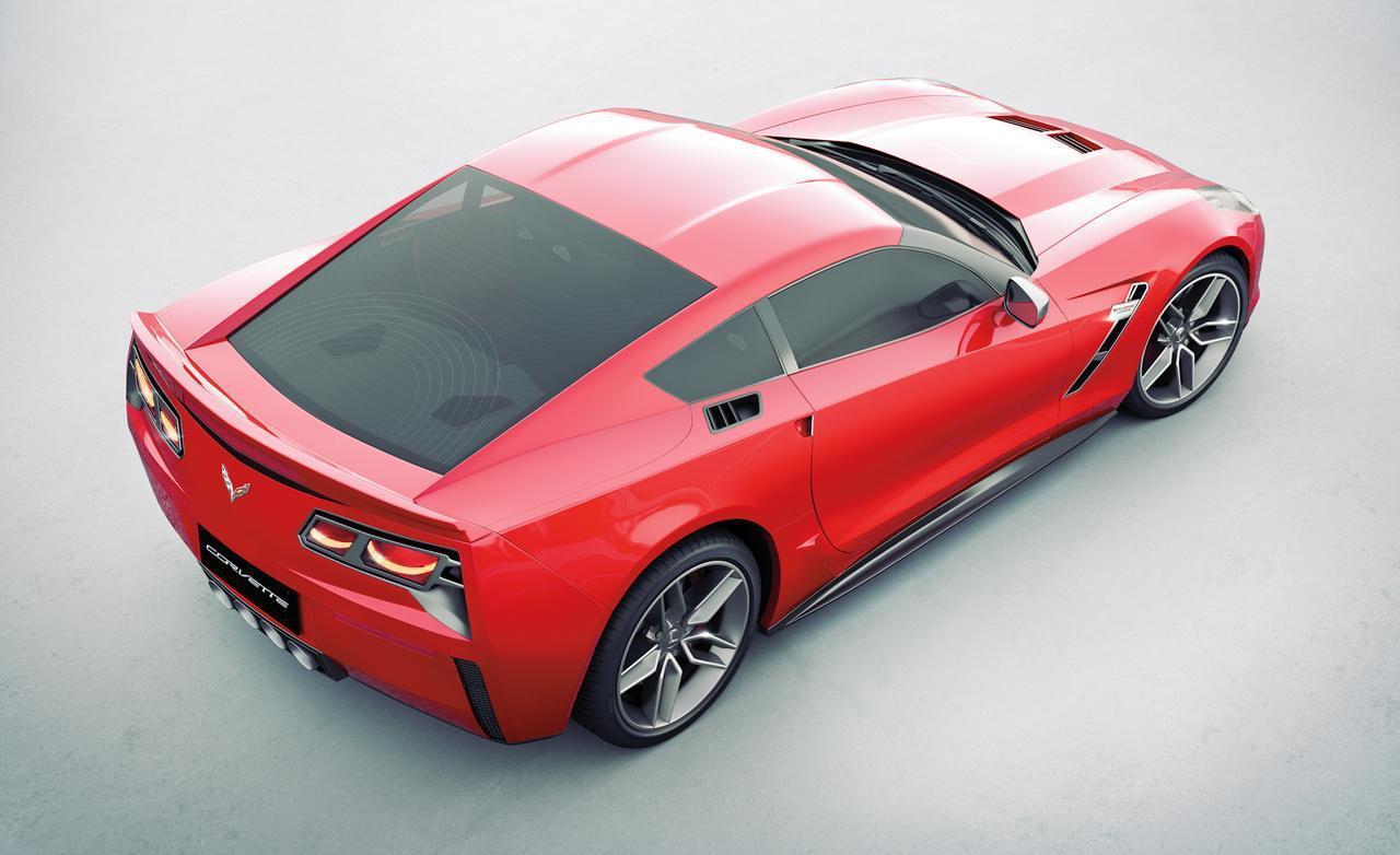 Вижте как ще изглежда новият Corvette C7