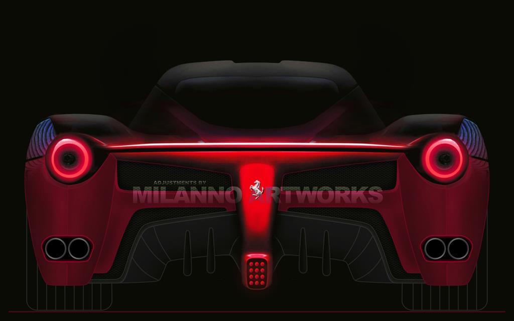 Вижте как ще изглежда новото Ferrari Enzo - ще бъде мощно 800 к.с.